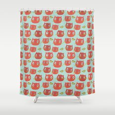 Pattern Project #32 / WTF Cats Shower Curtain