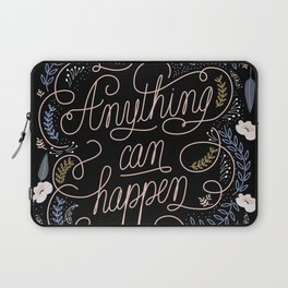Anything can happen Laptop Sleeve