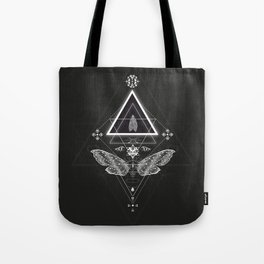 Mysterious moth Tote Bag