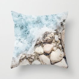 Wave On Throw Pillow