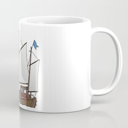 Sailing boat cutter Coffee Mug