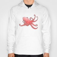 octopus Hoodies featuring Octopus by mailboxdisco