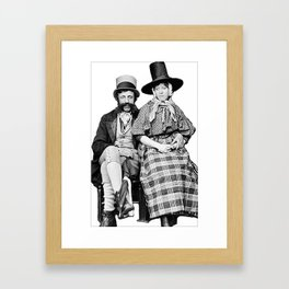 Welsh Couple  Framed Art Print