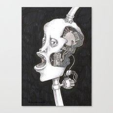 The head. Canvas Print