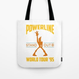 Powerline World Tour 95' Concert Tee Tote Bag
