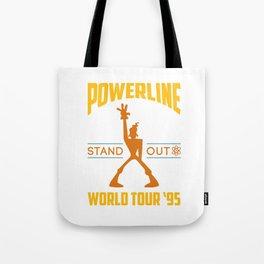 Powerline World Tour 95' Concert Tee Tote Bag