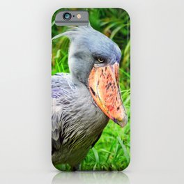 Shoebill Balaeniceps Rex iPhone Case