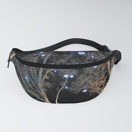 plane tree, New Year decorations Fanny Pack