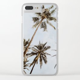 palm trees xiv / chiang mai, thailand Clear iPhone Case