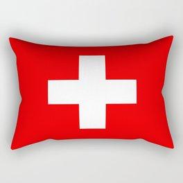 Swiss Flag of Switzerland Rectangular Pillow
