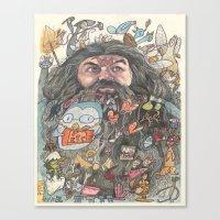 Hagrid's Beard Canvas Print
