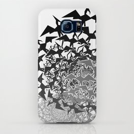 Fractyl Pterodactyl Swarms iPhone Case