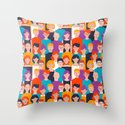 Colorful people pattern by pttrn
