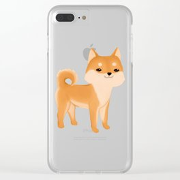 Red Sheeb Clear iPhone Case