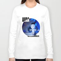 artrave Long Sleeve T-shirts featuring AURA ARTRAVE by Sergiomonster