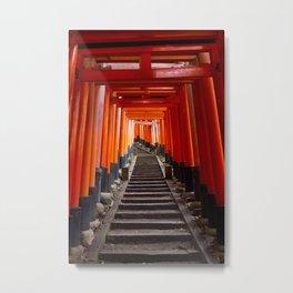 Torii Kyoto Metal Print