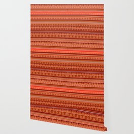 Abstract in orange Wallpaper