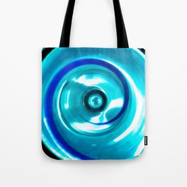Looking Glass - Blue Tote Bag