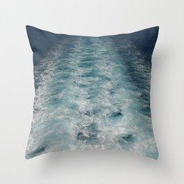 Sea Trails 1 Throw Pillow
