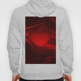 Red heart 16 Hoody