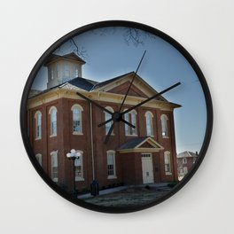 Cherokee Nation - Capitol in Tahlequah, No. 1 of 3 Wall Clock