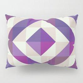 Patchwork Purples Pillow Sham
