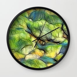 Stranded Weed Wall Clock