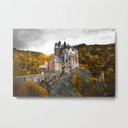 Castle in the Woods 1 Metal Print