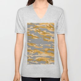 Midnight in a Oasis?. Unisex V-Neck