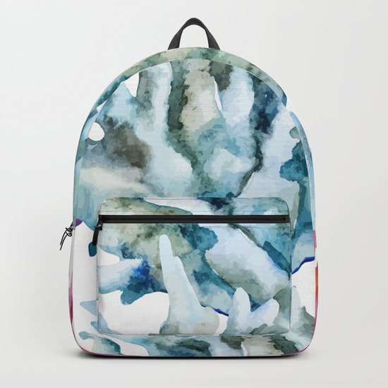 Sea Life Pattern 02 Backpack