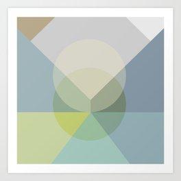 Pastel Play 2 Art Print