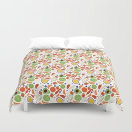 Fun Fruit and Veges Duvet Cover
