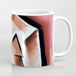 Woman knitting stockings -  Coffee Mug