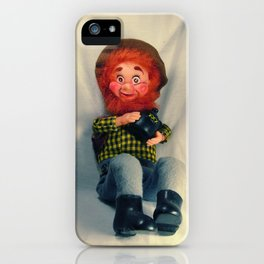Sawdust Hillbilly iPhone Case