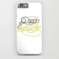 Queen of yellow Slim Case iPhone 6s