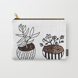 Backyard Plants Carry-All Pouch