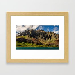 Kapaa, Hawaii Framed Art Print