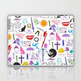 Buffy Symbology, Multi-color / Rainbow / PRIDE! Laptop & iPad Skin