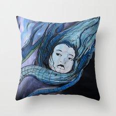 Desert In Throw Pillow