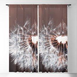 Dandelion Flower Blackout Curtain