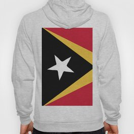 East Timor flag emblem Hoody