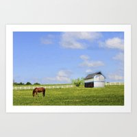 kentucky Art Prints featuring Kentucky by ThePhotoGuyDarren