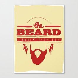 The Beard Canvas Print