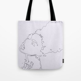 Afro Doll Tote Bag