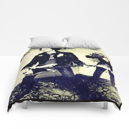 The tragedy of rock star Comforters