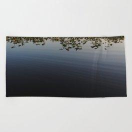 Spadderdock Abyss Beach Towel