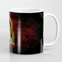 targaryen Mugs featuring The Dragon with rainbow ray ban iPhone 4 4s 5 5c 6, pillow case, mugs and tshirt by Greenlight8