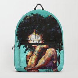 Naturally II TEAL Backpack
