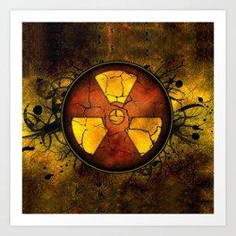 Umbrella of death Art Print