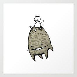 minima - joy ride Art Print